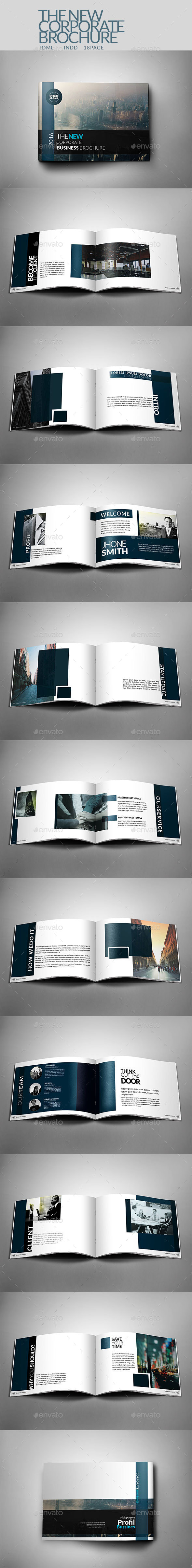 LDX - New Corporate Brochure Template Multipurpose - Corporate Brochures