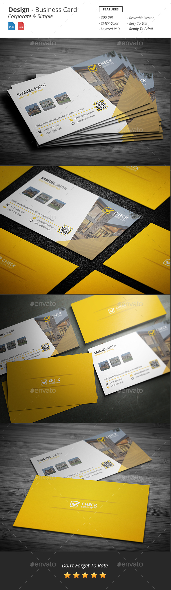 Design - Business Card - Industry Specific Business Cards