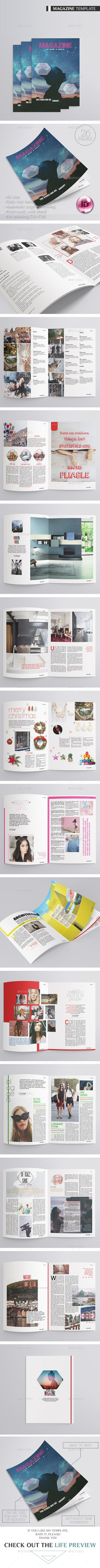 Magazine Multipurpose 26 Pages - Magazines Print Templates