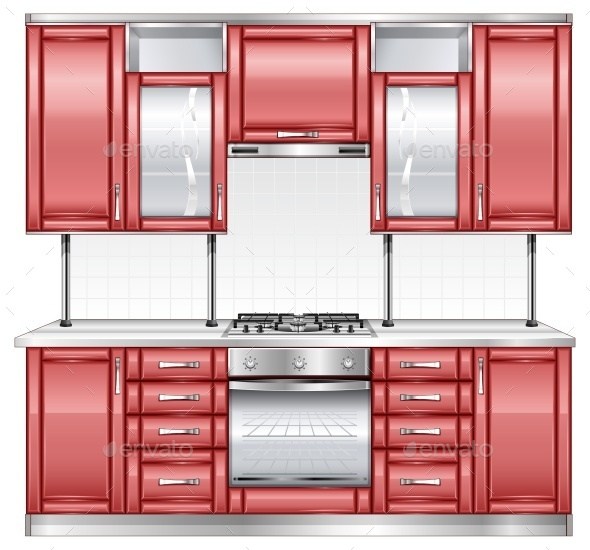 Red Kitchen  - Concepts Business