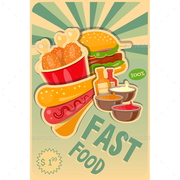 Food Poster - Food Objects