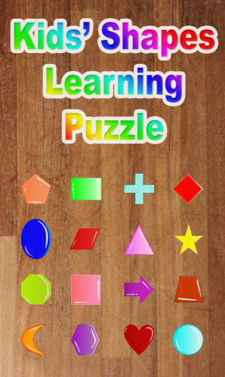 Kids' Shapes Learning Puzzle