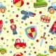 Seamless Toys Pattern - GraphicRiver Item for Sale