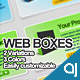 Web boxes elements - GraphicRiver Item for Sale