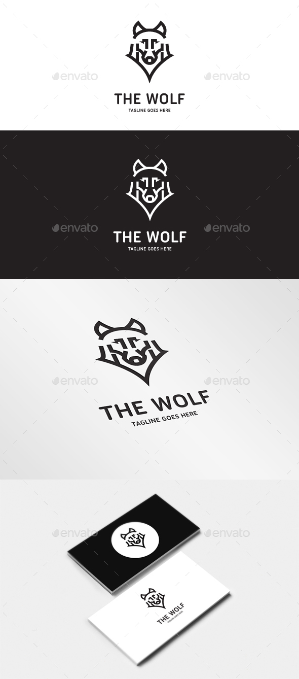 The Wolf - Animals Logo Templates