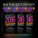 New Year Gigs Flyer Party - GraphicRiver Item for Sale