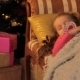 Girl Dreaming About Christmas Gifts - VideoHive Item for Sale