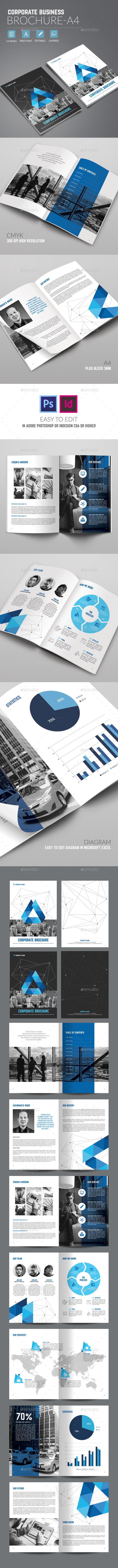 Corporate Business Brochure A4 - Corporate Brochures
