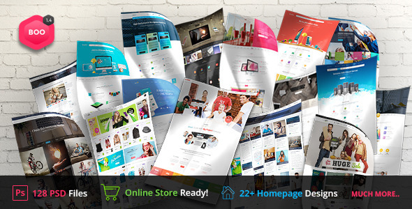 BOO | PSD - Corporate PSD Templates
