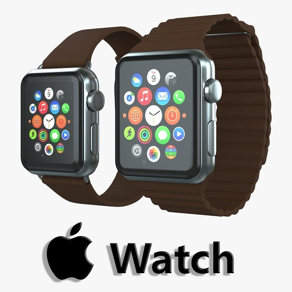 Apple watch v3 - 3DOcean Item for Sale