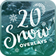 20 Snow Overlays - GraphicRiver Item for Sale