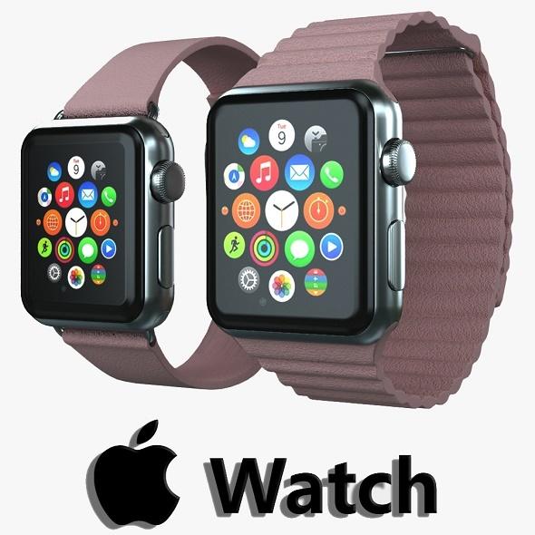 Apple watch v4 - 3DOcean Item for Sale