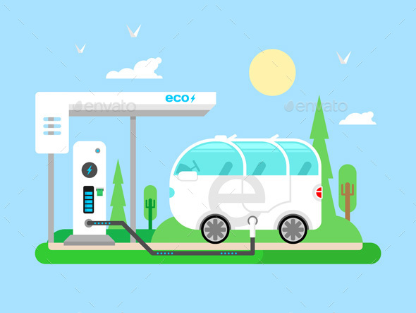 Electric Vehicle Charging - Technology Conceptual
