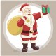 Santa Claus Character Set for Christmas - GraphicRiver Item for Sale