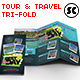 Travel & Tour Tri-Fold Brochure - GraphicRiver Item for Sale