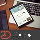 iPad Screen Mockup v2 - GraphicRiver Item for Sale