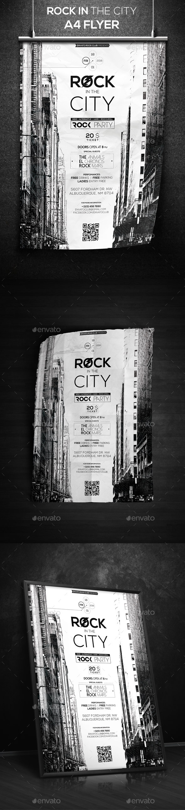 Rock In The City - Clubs & Parties Events