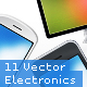 Vector Electronics Mega Pack - 11 Gadgets - GraphicRiver Item for Sale