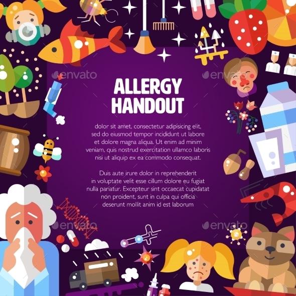 Allergen Design - Health/Medicine Conceptual