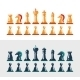 Flat Design Isolated Black and White Chess Figures - GraphicRiver Item for Sale