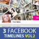 Facebook Timeline Covers Templates VOL2 - GraphicRiver Item for Sale