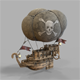 Airship pirates - 3DOcean Item for Sale