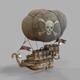 Airship pirates - 3DOcean Item for Sale