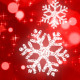 Red Snowflakes - VideoHive Item for Sale