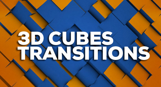 3D Cubes Transitions