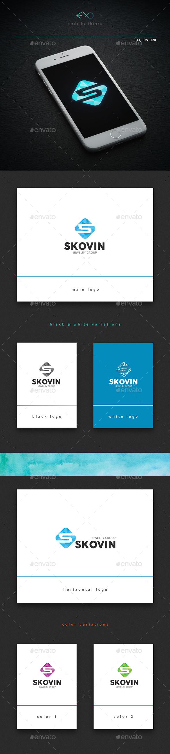 Skovin - Letters Logo Templates