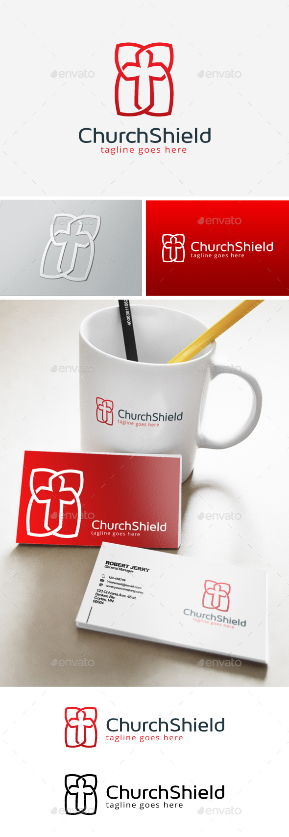 Church Logo - Objects Logo Templates