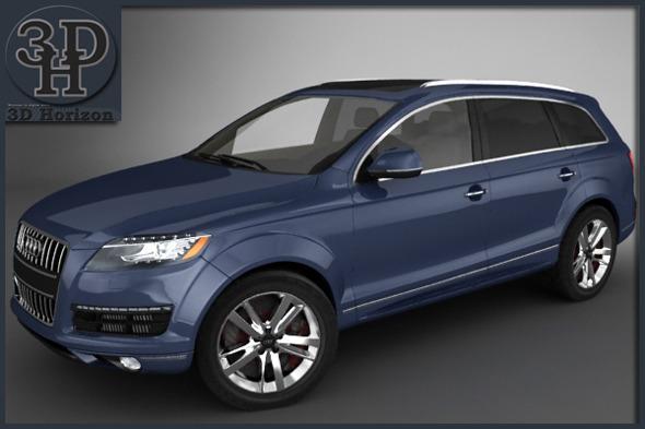 Audi Q7 2012 - 3DOcean Item for Sale