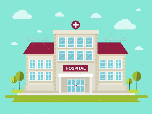 Hospital - Health/Medicine Conceptual