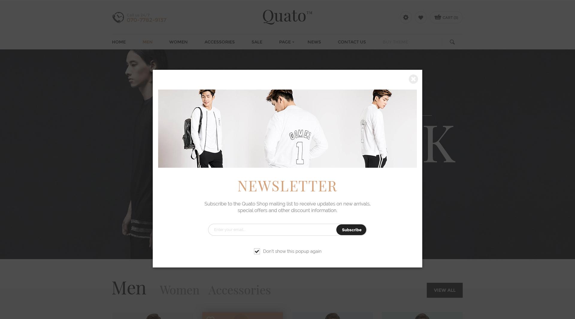 Quato fashion ecommerce psd template by engocreative themeforest quato fashion ecommerce psd template maxwellsz