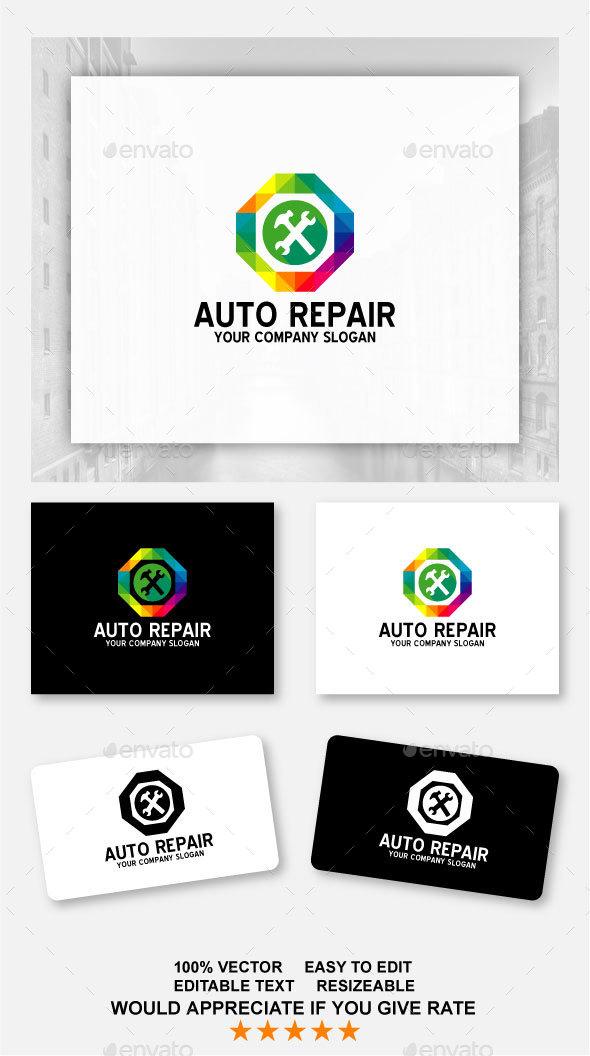 Auto Repair - Abstract Logo Templates