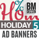 Holiday Sale Banner Ads - GraphicRiver Item for Sale