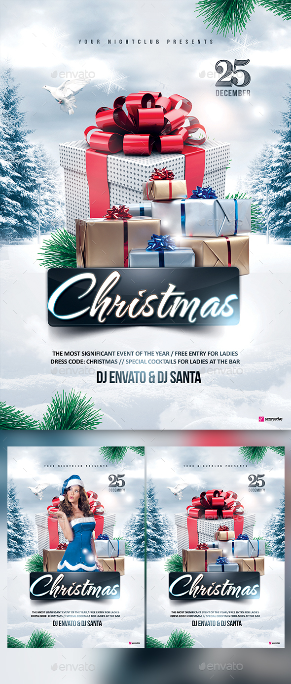 Christmas Deluxe - Events Flyers
