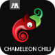 Chameleon Chili Logo - GraphicRiver Item for Sale