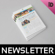 Educational Newsletter Template - GraphicRiver Item for Sale