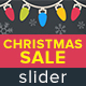 Christmas Sale Slider - GraphicRiver Item for Sale