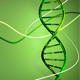Rotating DNA in Green Background - VideoHive Item for Sale