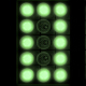 Light Bulbs Clock Green - VideoHive Item for Sale