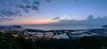 Viewpoint at peak of khaodang, Prachuap Khiri Khan province, Thailand