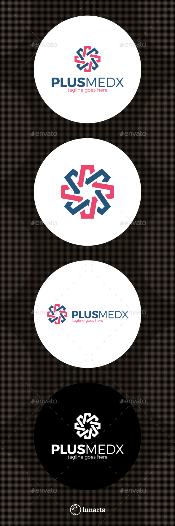 Medical Cross Logo - Letter X - Letters Logo Templates