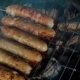 Bratwurst Sausages Grilled On a Barbecue - VideoHive Item for Sale