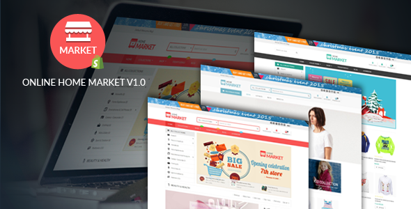 Home Market – Flexible Shopify Theme