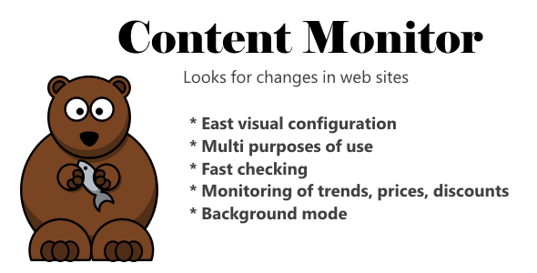 Bear Content Monitor - CodeCanyon Item for Sale