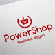 Power Shop Cart Logo - GraphicRiver Item for Sale