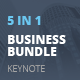 5 in 1 Keynote Business Bundle - GraphicRiver Item for Sale