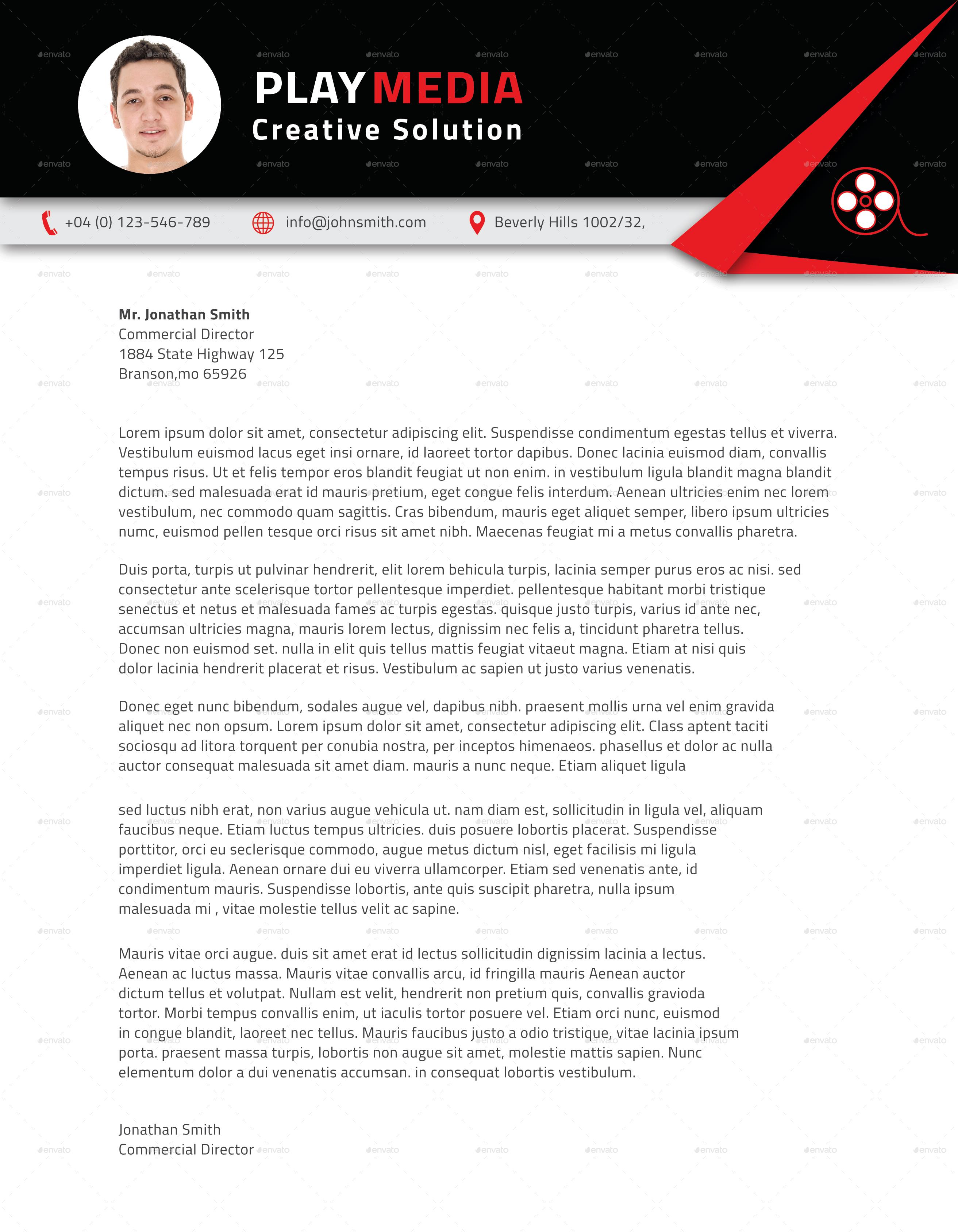 Corporate Letterhead Vol.2